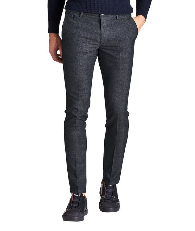 Kaito Slim Fit Stretch-Blend Pants picture 1