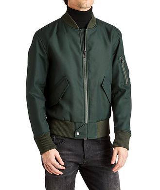 BOSS Water-Repellent Bomber Jacket