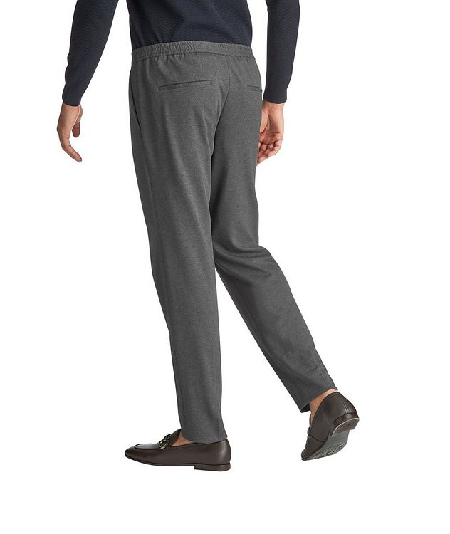 Banks4 Stretch-Jersey Dress Pants picture 2