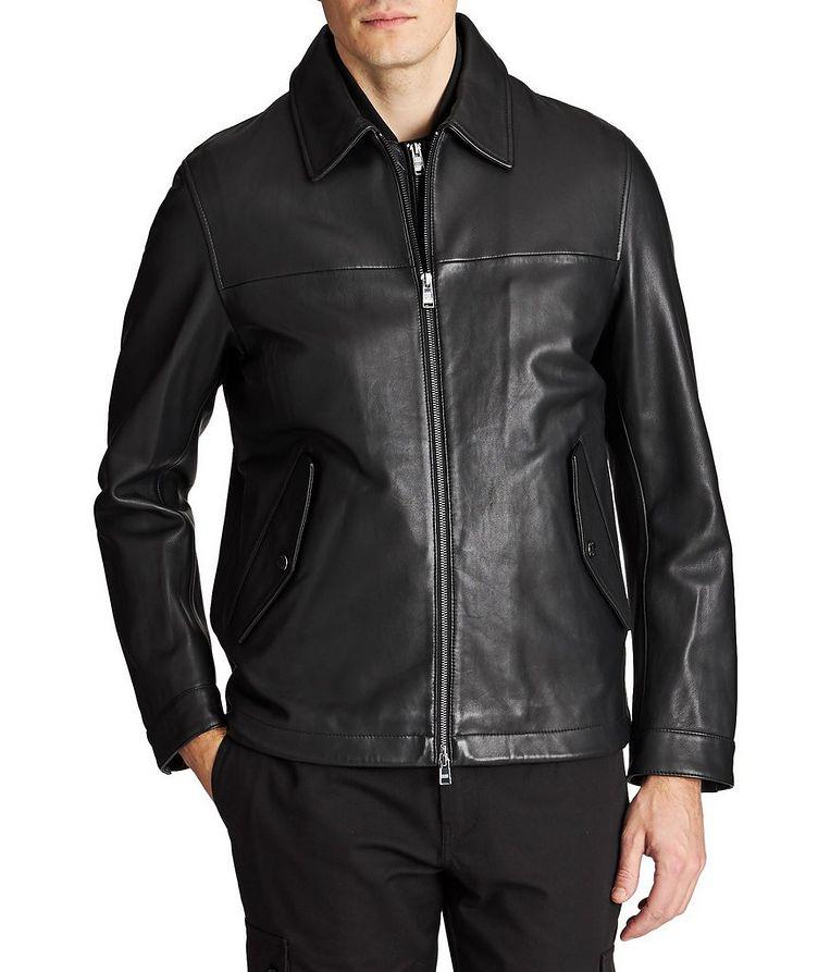 Mupton Leather Jacket image 0