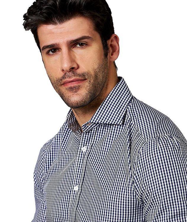 Chemise en coton à carreaux vichy picture 2
