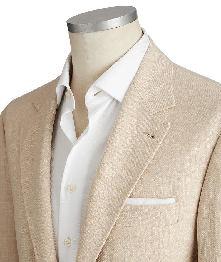 Wool, Linen & Silk Sports Jacket image 1