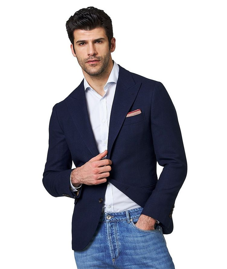 Wool, Linen & Silk Sports Jacket image 0