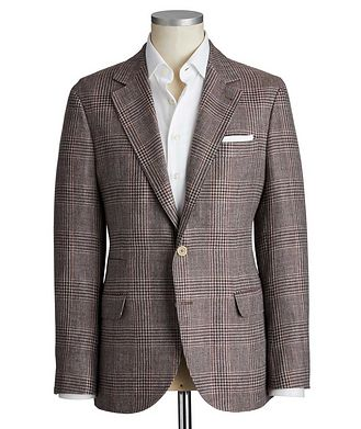 Brunello Cucinelli Unstructured Linen, Wool & Silk Sports Jacket