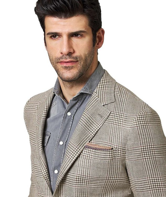 Linen, Wool & Silk Sports Jacket picture 2