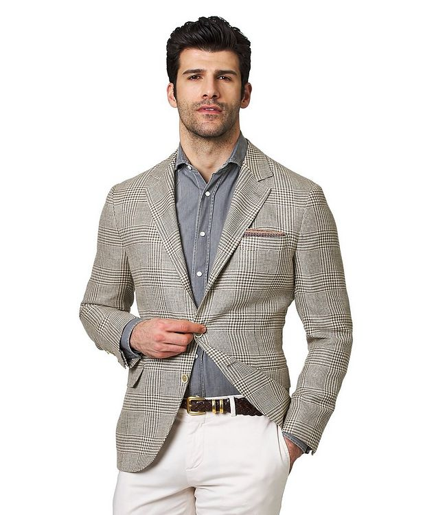Linen, Wool & Silk Sports Jacket picture 1