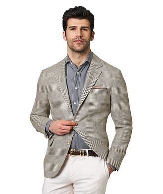 Brunello Cucinelli Linen, Wool & Silk Sports Jacket