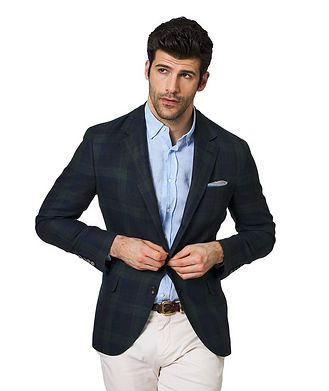 Brunello Cucinelli Linen, Wool & Silk Sports Jacket