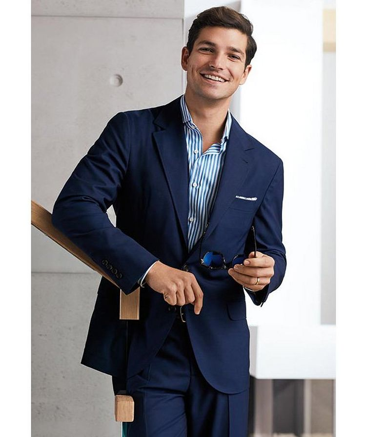Unstructured Wool Sports Jacket image 2