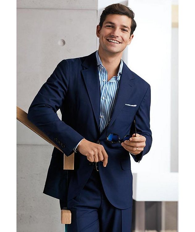 Unstructured Wool Sports Jacket picture 3