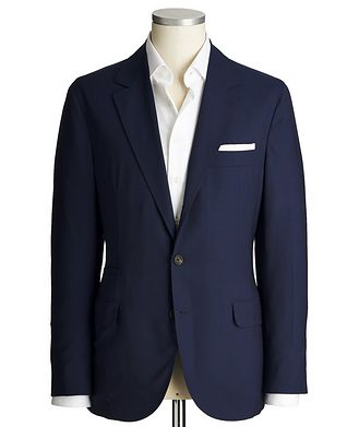 Brunello Cucinelli Unstructured Wool Sports Jacket