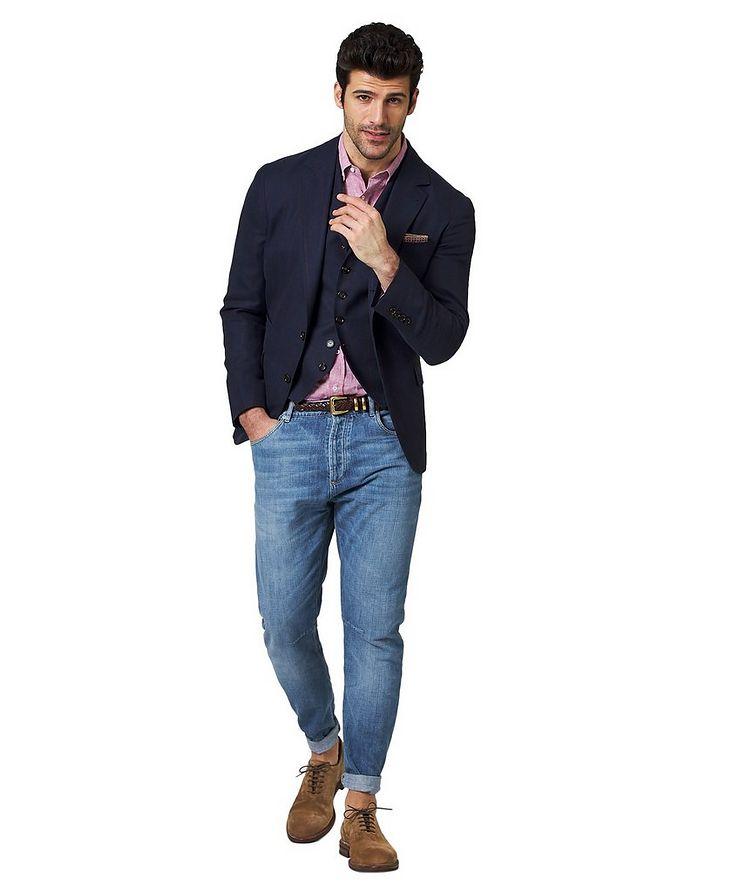 Linen, Wool & Silk Sports Jacket image 2