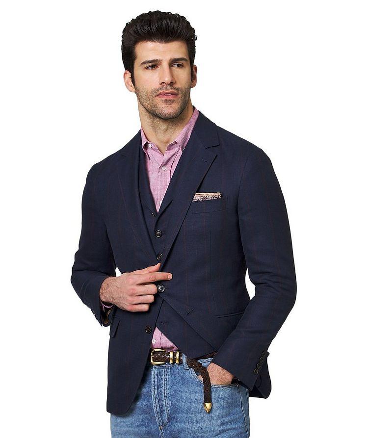 Linen, Wool & Silk Sports Jacket image 0