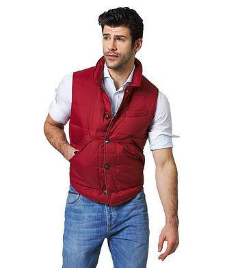 Brunello Cucinelli Water-Repellent Nylon Vest