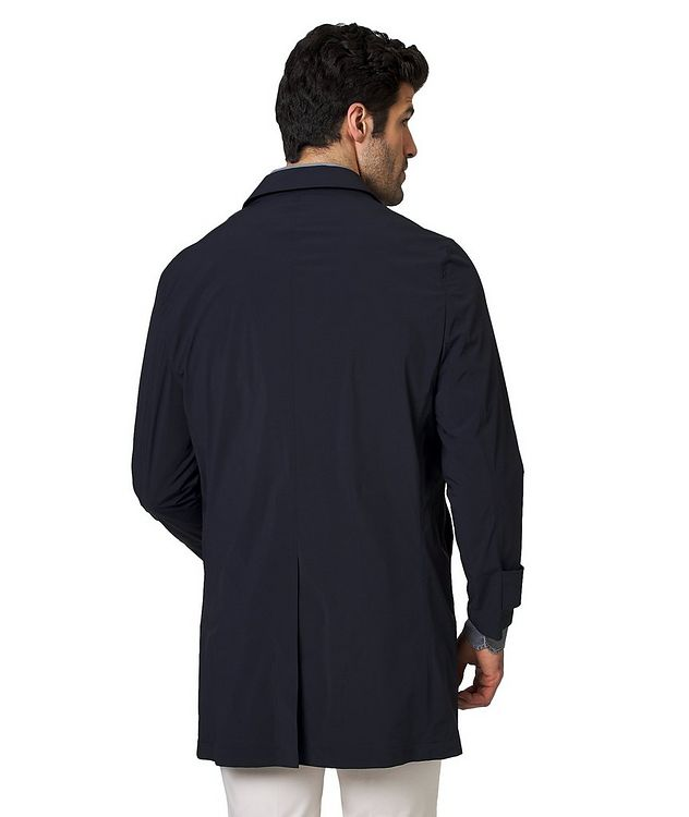 Stretch Nylon Car Coat picture 2