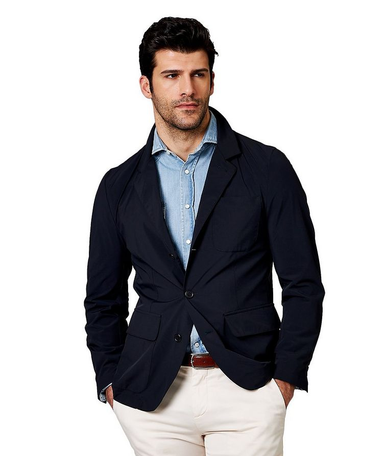 Stretch-Nylon Blazer image 0