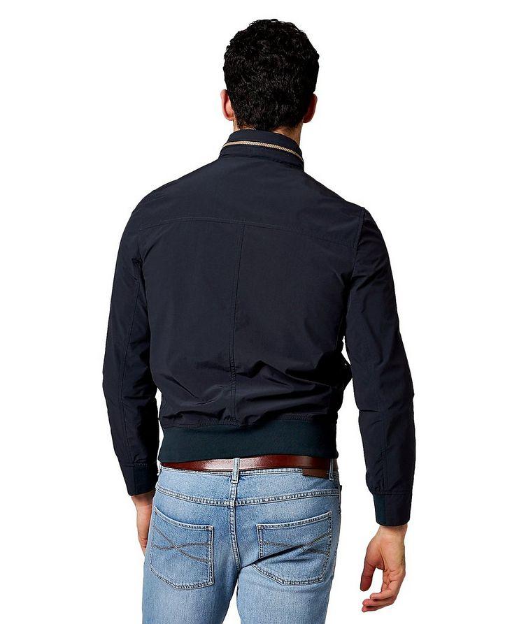Water-Resistant Satin-Nylon Jacket image 1