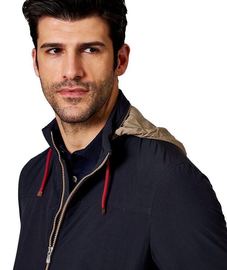 Water-Resistant Satin-Nylon Jacket image 2