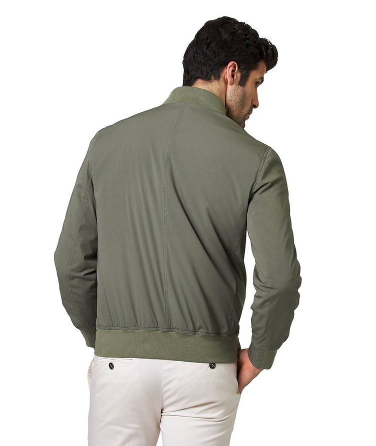 Silk Bomber Jacket image 1