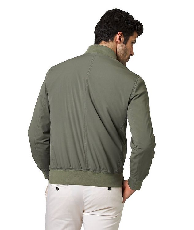 Silk Bomber Jacket picture 2