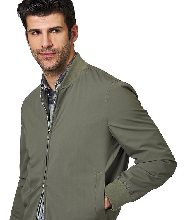 Silk Bomber Jacket picture 3
