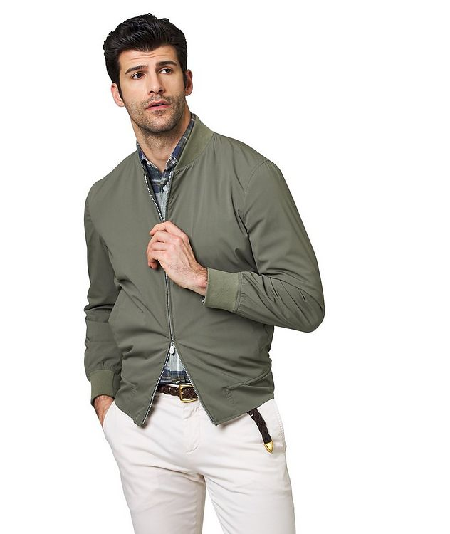 Silk Bomber Jacket picture 1