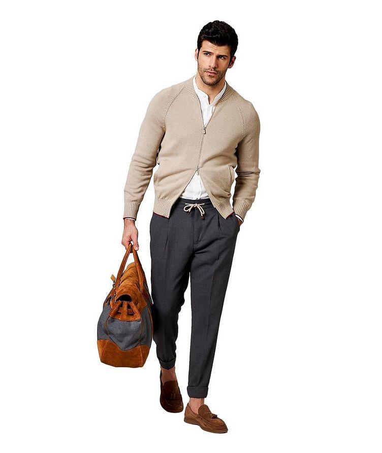 Pantalon en laine vierge image 3