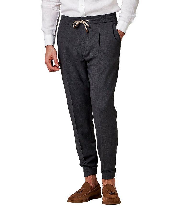 Pantalon en laine vierge image 0