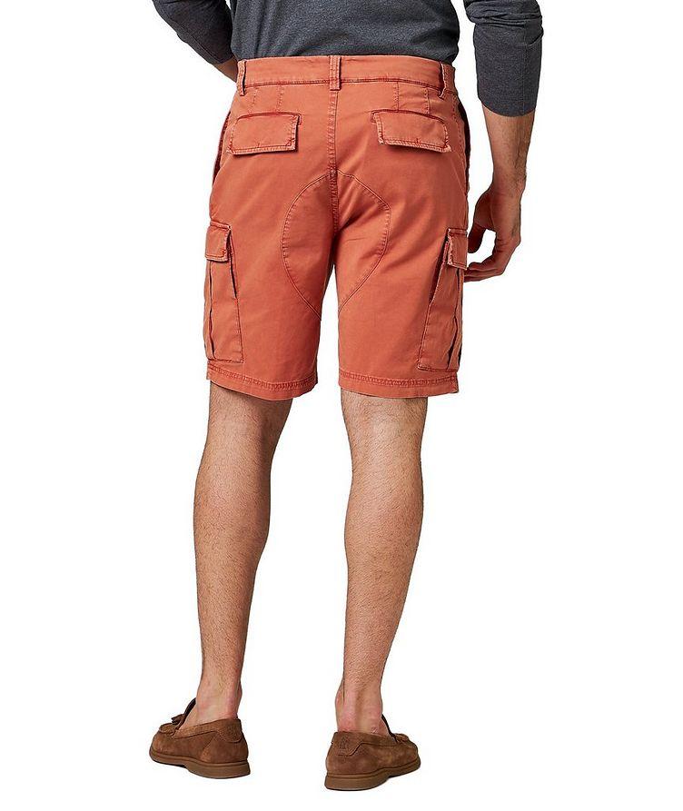 Short en jersey de coton à poches cargo image 1