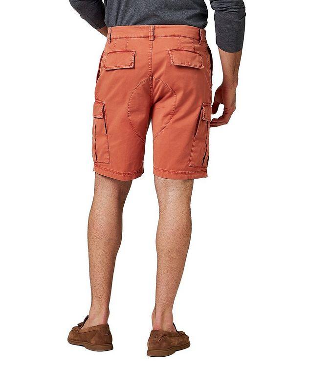 Short en jersey de coton à poches cargo picture 2