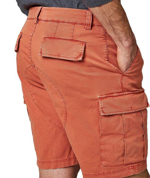 Short en jersey de coton à poches cargo picture 3