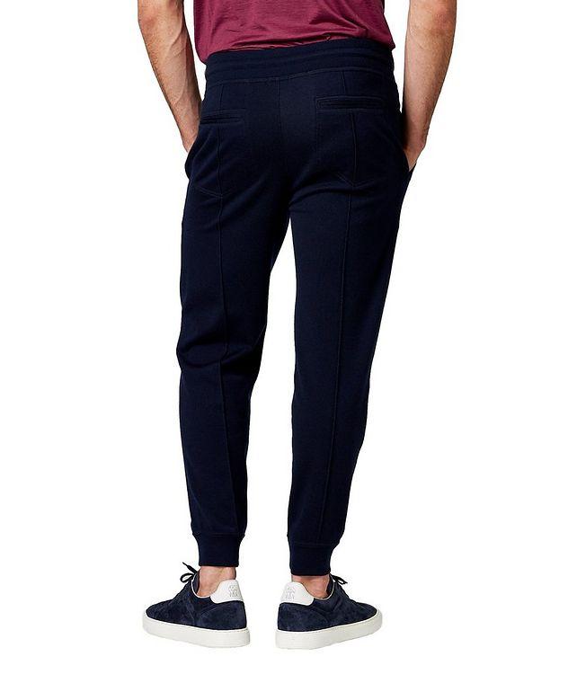 Pantalon sport en cachemire et coton picture 2