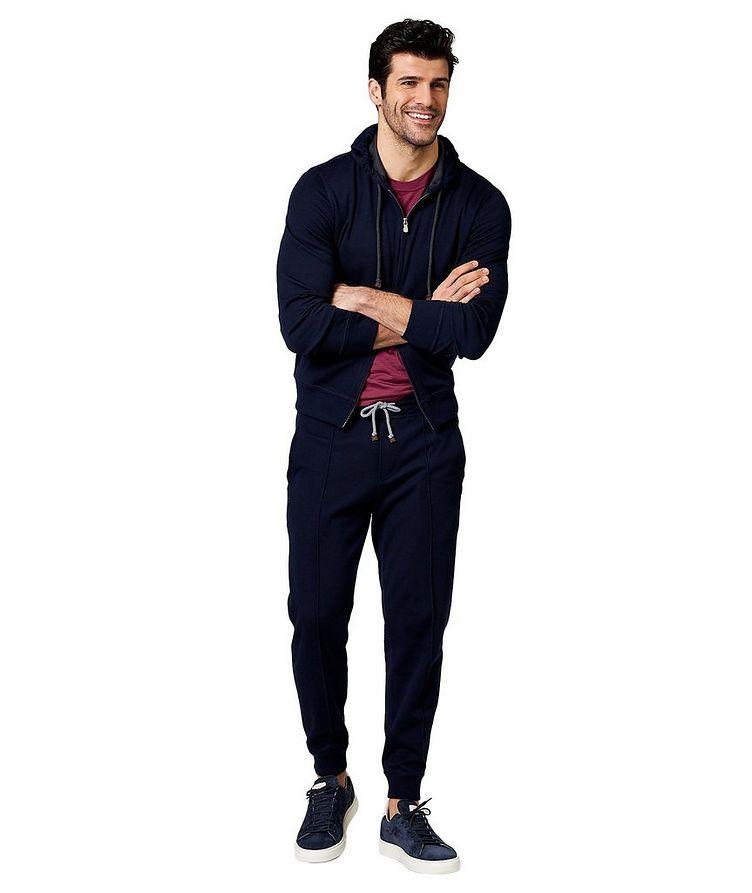 Pantalon sport en cachemire et coton image 3