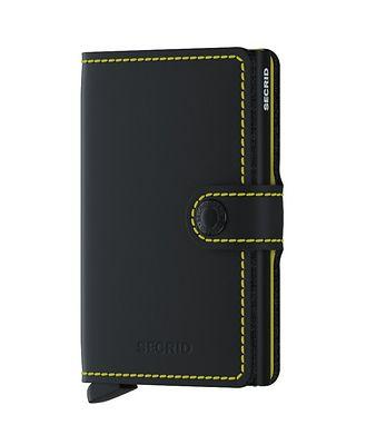 Secrid Matte Leather Miniwallet