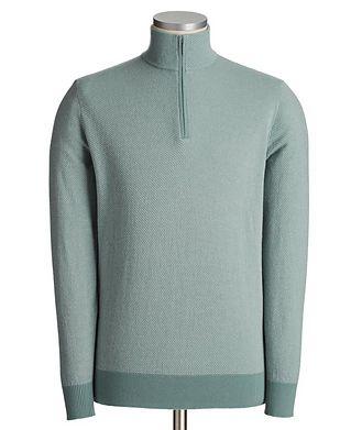 Loro Piana Roadster Pull Half-Zip Cashmere Sweater