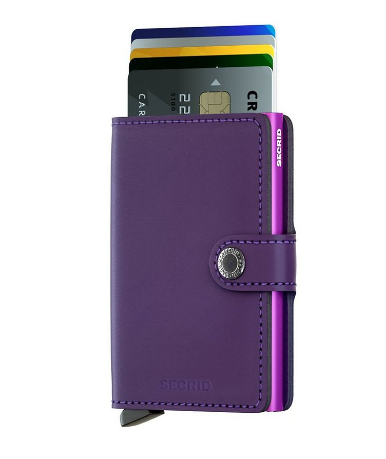 Matte Leather Miniwallet image 1