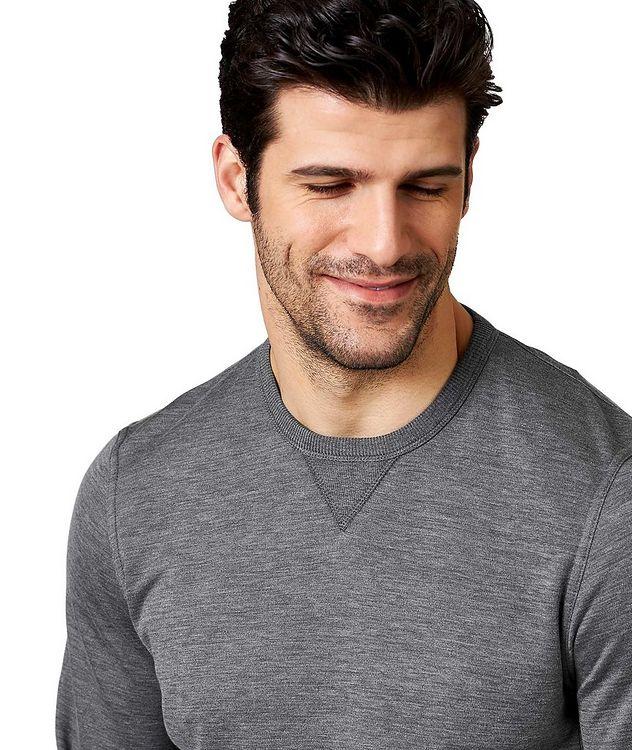 Cotton-Silk Sweatshirt picture 2