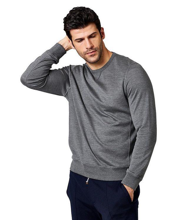 Cotton-Silk Sweatshirt picture 1