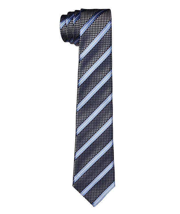Cravate imprimée en soie picture 1