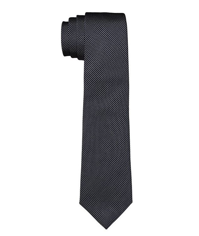 Printed Silk-Cotton Tie picture 1