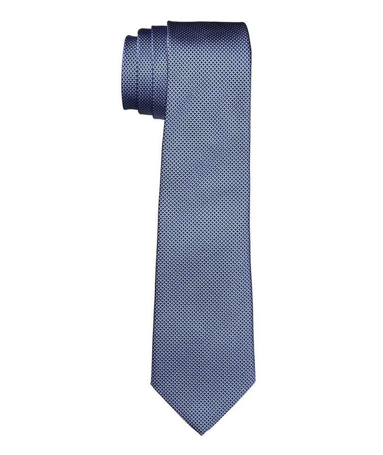 Printed Silk-Cotton Tie image 0