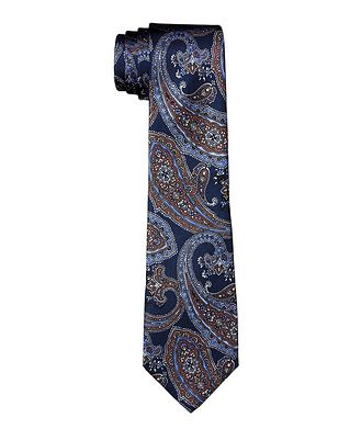 Altea Paisley Silk Tie