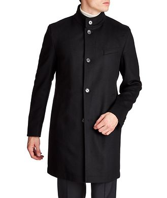 BOSS Wool-Cashmere Coat