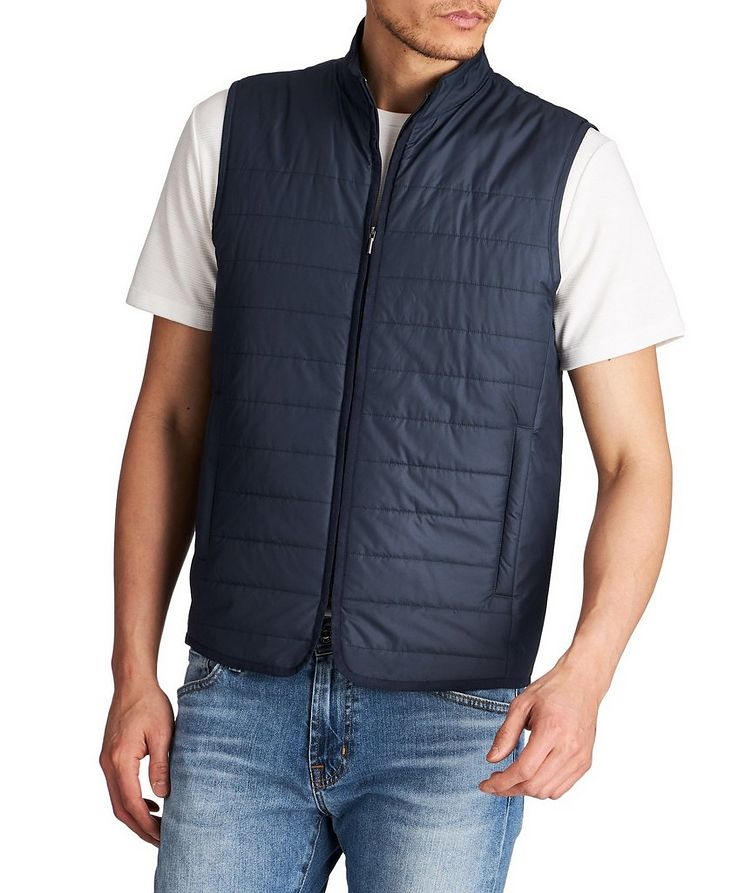 Quilted Vest image 0