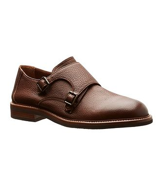 Brunello Cucinelli Deerskin Double Monkstraps