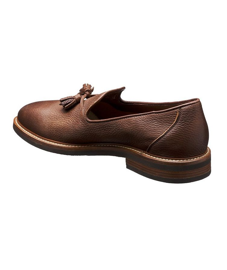 Tumbled Deerskin Loafers image 1
