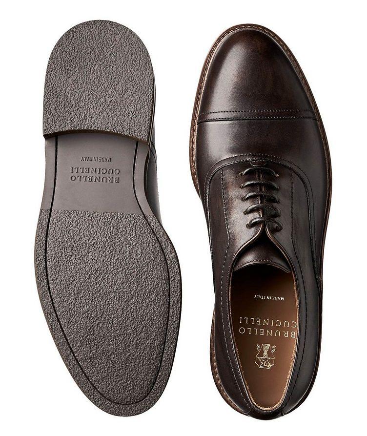 Chaussure lacée à bout rapporté image 2