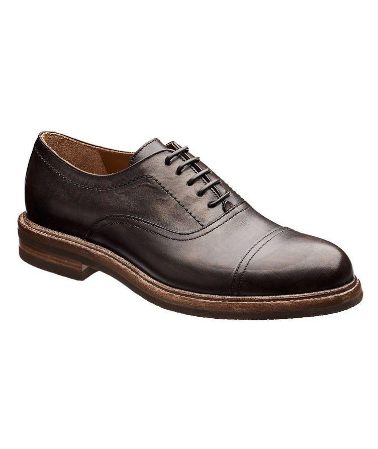 Chaussure lacée à bout rapporté image 0