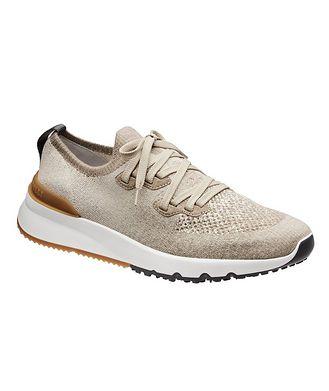 Brunello Cucinelli Knit Sock Sneaker