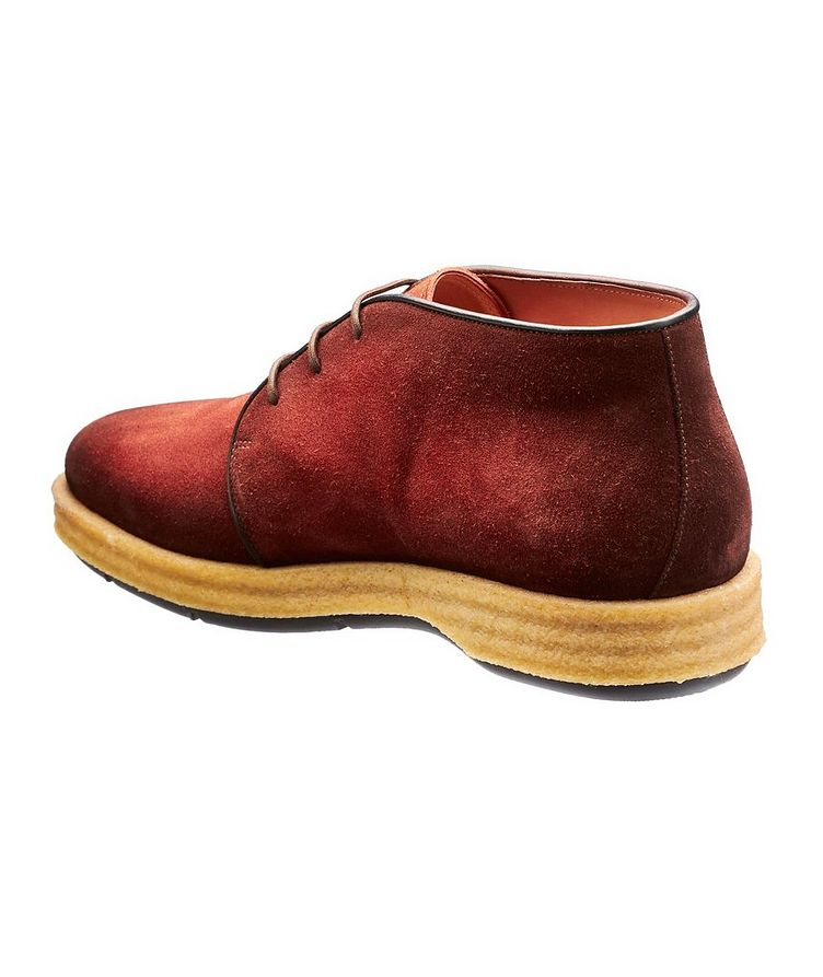 Burnished Suede Desert Boots image 1